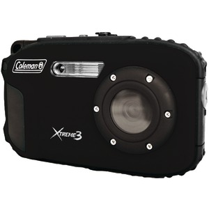 COLEMAN 20.0 Megapixel Xtreme3 HD-Video Waterproof Digital Camera (Black) C9WP-BK
