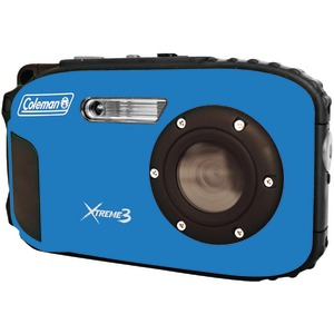 COLEMAN 20.0 Megapixel Xtreme3 HD-Video Waterproof Digital Camera (Blue) C9WP-BL