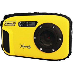 COLEMAN 20.0 Megapixel Xtreme3 HD-Video Waterproof Digital Camera (Yellow) C9WP-Y