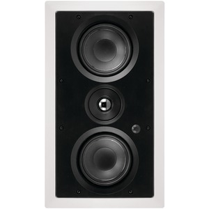 Dual 5.25 Inch. 2-Way LCR In-Wall Loudspeaker