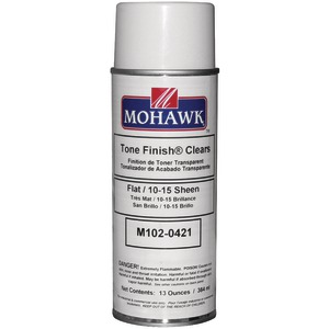 MOHAWK Clear Flat Lacquer Spray M102-0421