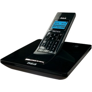 DECT 6.0 Digital Cordless Phone with Caller ID (Single-Handset System)