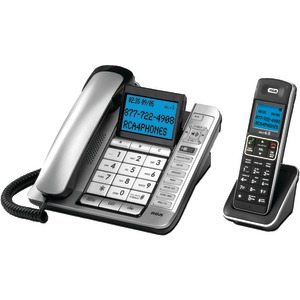 Corded-Cordless Combo with Caller ID & Digital Answering System