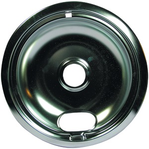 Universal Chrome Drip Pan Style A (8 Inch.)
