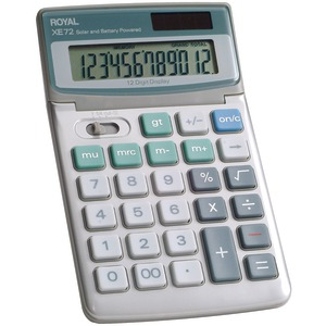 12-Digit Desktop Solar Calculator