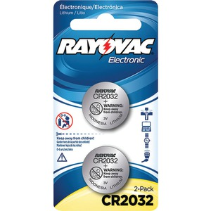 RAYOVAC 3-Volt Lithium Keyless Entry Batteries 2 pk (CR2032 Size) KECR2032-2A