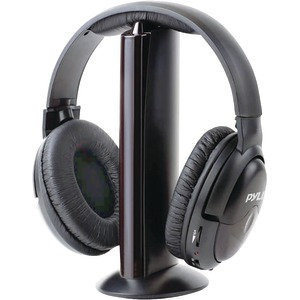 PYLE Professional 5-In-1 Wireless Headphone System with Microphone PHPW5