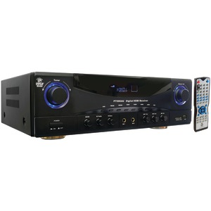 5.1-Channel 350-Watt Amp Receiver with 3D Pass Through
