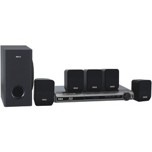 Home Theater System with Built-in Blu-ray(TM) Player
