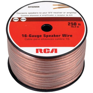RCA 16-Gauge Speaker Wire (250 ft) AH16250SR