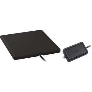 RCA Home Theater Style Multidirectional Digital Flat Amplified Antenna (Black) ANT1450BF