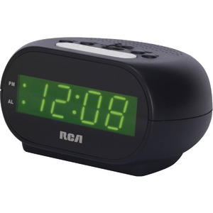 RCA Alarm Clock with .7 Inch. Green Display RCD20