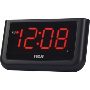 RCA Alarm Clock with 1.4 Inch. Red Display RCD30