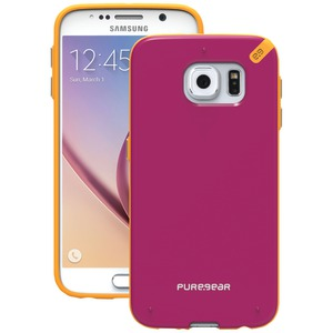 PURE GEAR Samsung(R) Galaxy S(R) 6 Slim Shell Case (Sunset Pink) 99819VRP