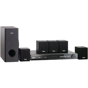 Home Theater System with Built-in DVD Player
