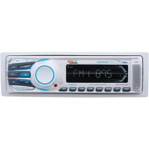 Marine Single-DIN iIn-Dash Mechless Receiver with Bluetooth(R)