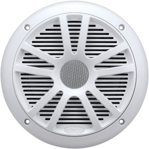 BOSS AUDIO Marine 6.5 Inch. Dual-Cone Speakers (White) MR6W