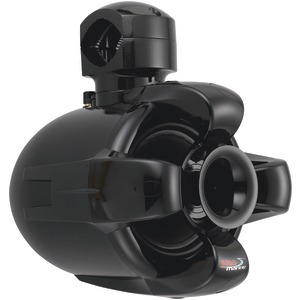 6.5 Inch. 500-Watt 2-Way Marine Wake Tower Speaker (Black)
