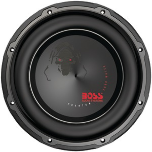 Phantom Series Dual Voice-Coil Subwoofer with Electroplate -njection Cone (12 Inch.)