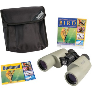 BUSHNELL Birder 8 x 40mm Porro Binoculars with CD 118042C