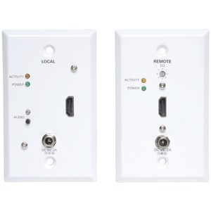HDMI(R) Over CAT-5 Active Wall Plate Extender Kit