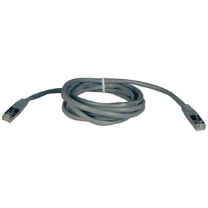 TRIPP LITE CAT-5E Molded Shielded Patch Cable Gray (10ft) N105-010-GY