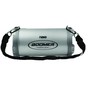 BOOMER IMPULSE SHINE Bluetooth(R) Boom Box with LED Lights