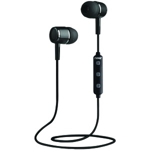 NAXA Bluetooth(R) Isolation Earbuds with Microphone & Remote (Gray) NE-950 BLACK/GRAY
