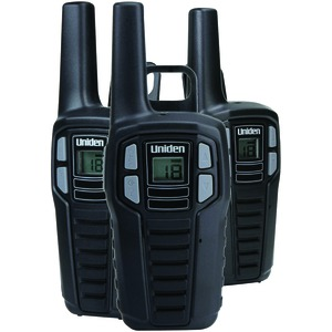 UNIDEN 16-Mile 2-Way FRS/GMRS Radios (3 pk; with 9 batteries) SX167-3CH