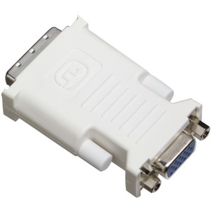TRIPP LITE DVI to VGA Adapters (DVI-I to VGA Analog Adapter converts DVI-I to standard VGA receptacle) P120-000