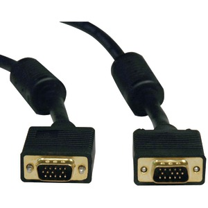 TRIPP LITE SVGA RGB Monitor Cable with RGB Coaxial (10ft) P502-010