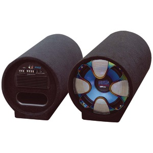 PYLE Blue Wave Series Amplified Subwoofer Tube System (10 Inch. 500 Watts) PLTAB10