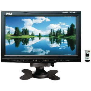 PYLE 7 Inch. Headrest Monitor with Stand & Headrest Shroud PLVHR75