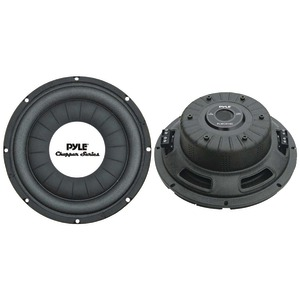 PYLE Chopper Series Shallow-Mount Subwoofer (10 Inch. 500 Watts) PLWCH10D