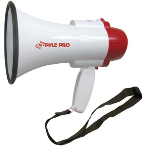 PYLE PRO Professional Megaphone-Bullhorn with Siren PMP30