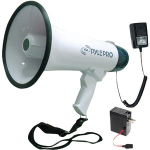 PYLE PRO Professional Dynamic Megaphone with Recording Function PMP45R