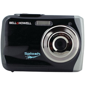 BELL+HOWELL 12.0 Megapixel WP7 Splash Waterproof Digital Camera (Black) WP7-BK