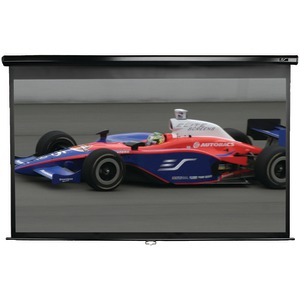 Manual Series Pull-Down Screen (150 Inch.; 73.5 Inch. x 130.7 Inch.; 16:9 HDTV Format)