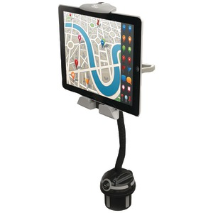 Universal iPad(R) Car Mount Stand & Cup Holder Attachment
