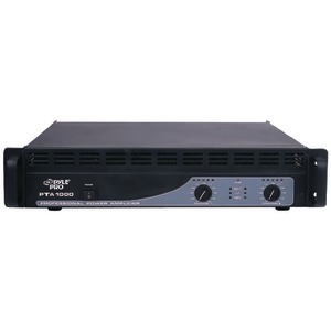PYLE PRO Professional Power Amp (1000 Watt) PTA1000