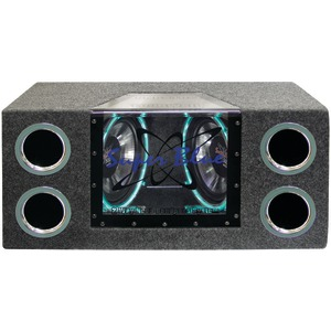 PYRAMID Dual-Bandpass System with Neon Accent Lighting (10 Inch. 1000 Watts) BNPS102