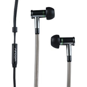 A1 Airtube Stereo Earbuds with Microphone (Gray)