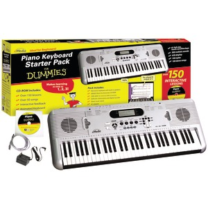 FOR DUMMIES Piano for Dummies 61-Key Keyboard Starter Pack FD05107