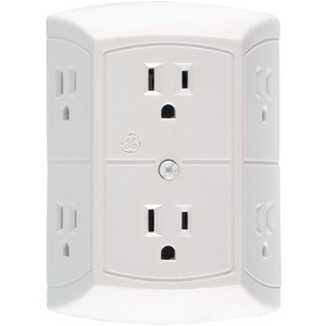 GE 6-Outlet In-Wall Adapter 50759
