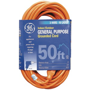 GE 1-Outlet Indoor-Outdoor Extension Cord (50ft) 51926