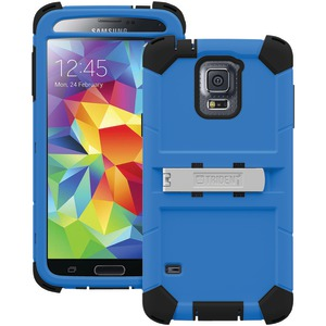 TRIDENT Samsung(R) Galaxy S(R) 5 Kraken A.M.S. Series(TM) Case with Belt Clip Holster (Blue) KN-SSGXS5-BL000