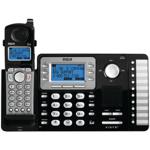 RCA 2-Line Expandable Cordless Phone with Caller ID 25212