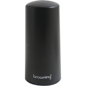 BROWNING 4G-3G LTE Wi-Fi Cellular Pretuned Low-Profile NMO Antenna BR-2427