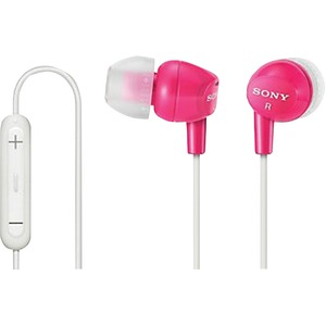 EX Earbuds with Microphone (Pink)