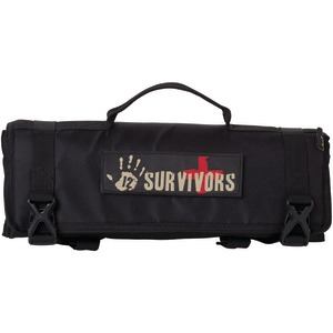 12 SURVIVORS First Aid Rollup Kit TS42000B